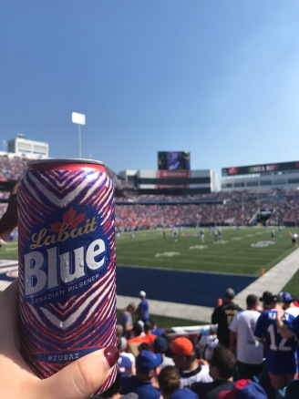 Labatt Blue at New Era Field